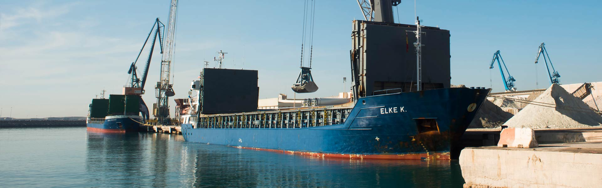 transporte maritimo IBEROCLAYS